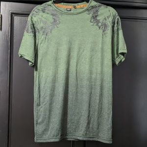 Buffalo ombre green tee